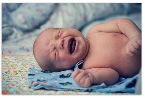 Дыхание ребенка во сне.