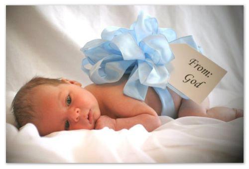 Строение головы новорожденного