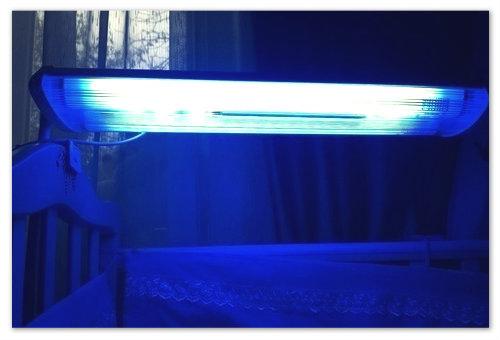 Лампа для лечения желтушки у новорожденных