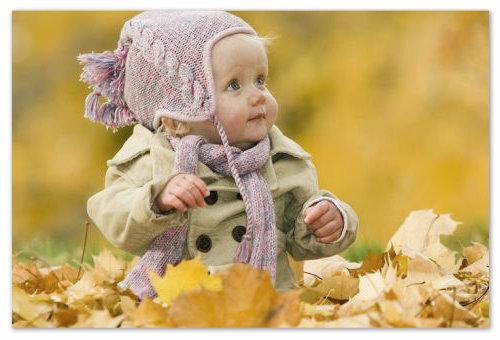 Прогулки ребенка на свежем воздухе