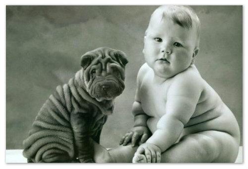 Складочки у новорожденного ребенка