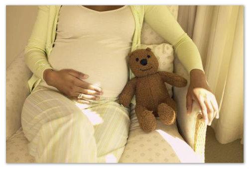 Беременная женщина.
