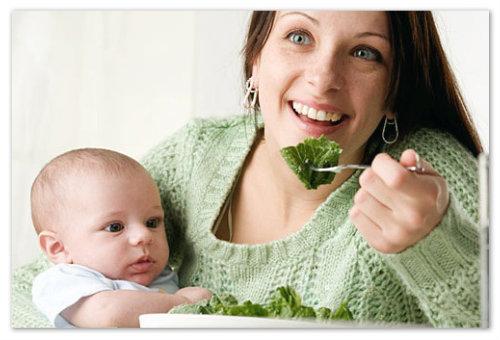 Питание кормящей матери