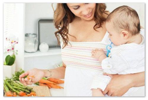 Правильное питание мамы и ребенка