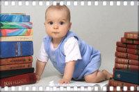 Мальчик в 6 месяцев.
