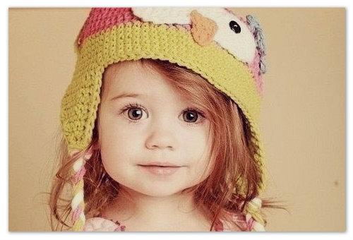 Маленькая девочка.