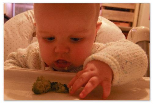 Ребенок и капуста