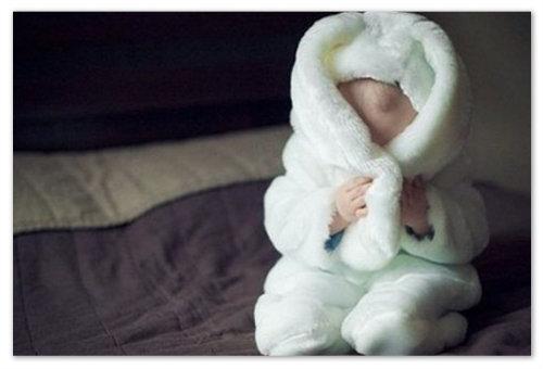 Ребенок-заяц.