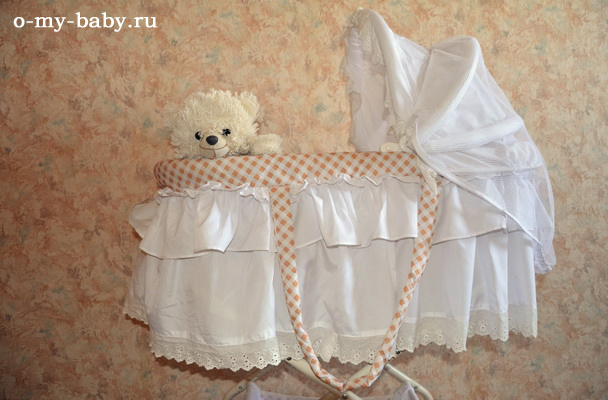 Отзыв Катерины о кроватке-колыбели Leader Kids SD-116.