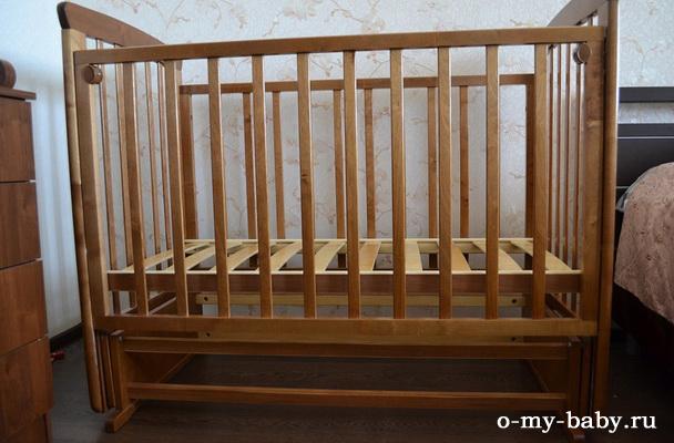 Отзыв Татьяны о детской кроватке Марина С702.