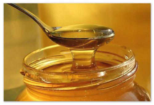 Ложка с медом.