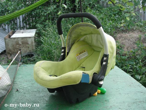 Отзыв Татьяны о детском автомобильном кресле Caretero Fly.