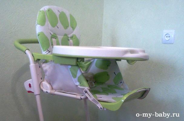 Отзыв Наталии о стульчике для кормления Geoby Y801.