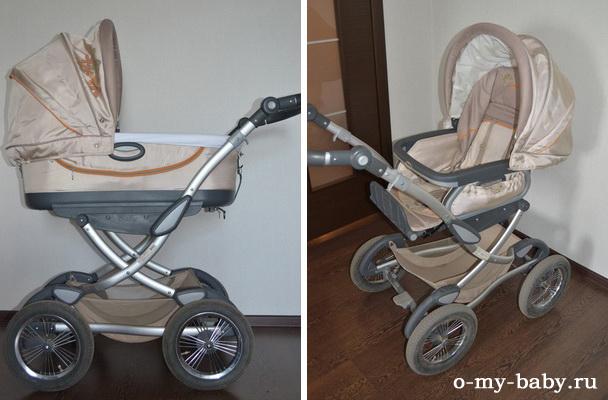 Отзыв Татьяны о коляске Geoby 05 Baby.
