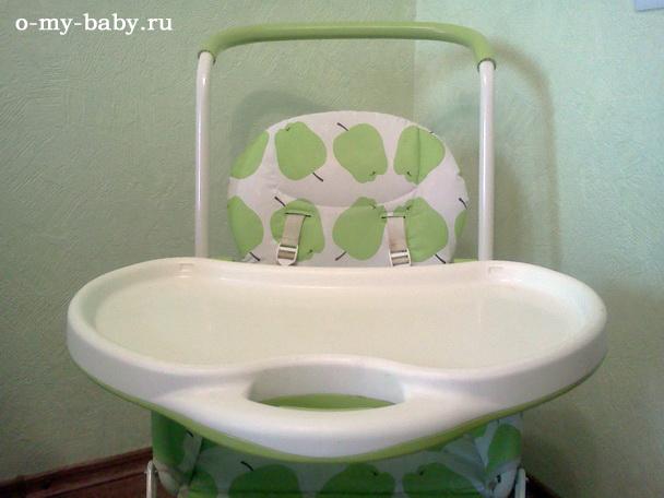 Расцветка в зелёное яблоко гармонирует со стенами на кухне.