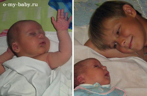 Крошка со старшим братом