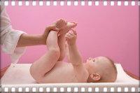 Опрелости у младенца