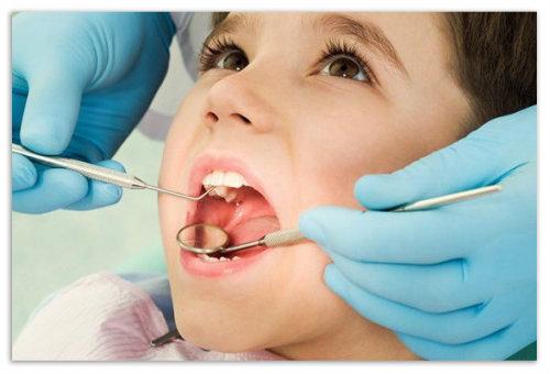В кресле у стоматолога.