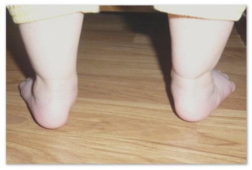 Ножки крохи.