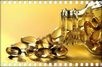 Витамин в капсулах.