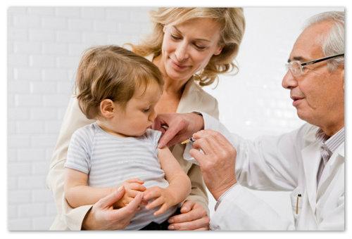 Прививка от дифтерии