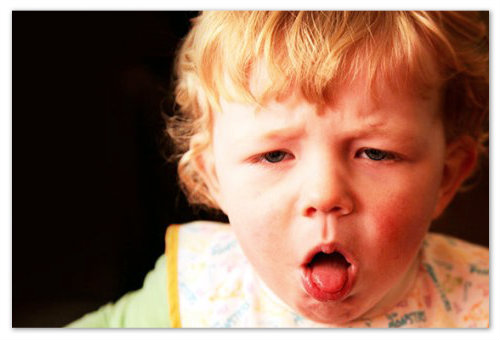 Кровохаркание у ребенка