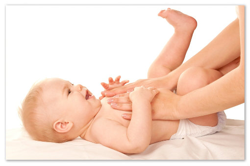 Нежные мамины руки.