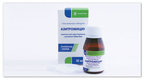 Когда назначают Азитромицин?