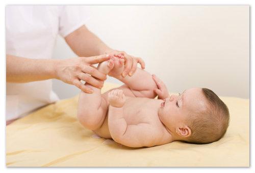 Гимнастика и массаж при боли в животе.