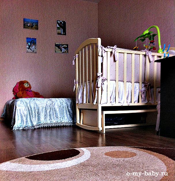 Цвет кроватки Алита 3 нам понравился.