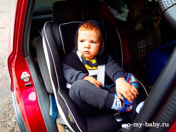 Место малыша в автомобиле.