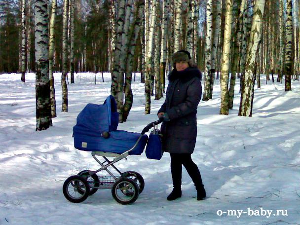 Зимняя прогулка.
