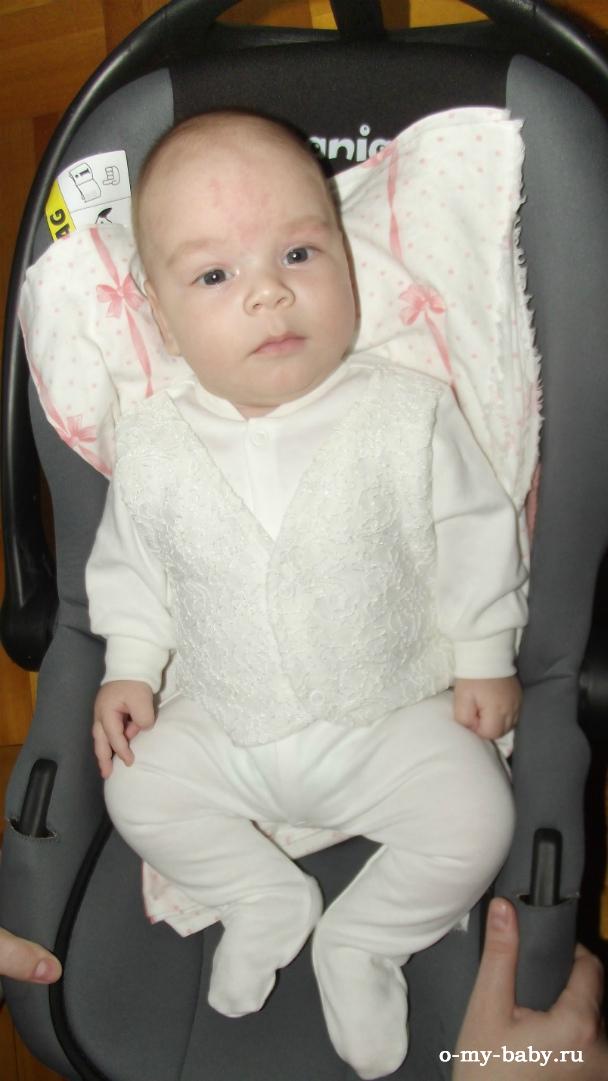 Малыш в Nania Baby Ride.