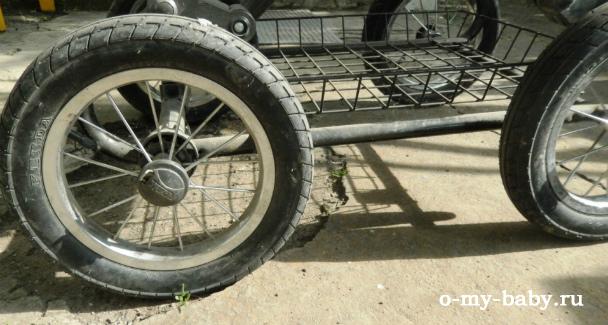 Надёжные колёса.