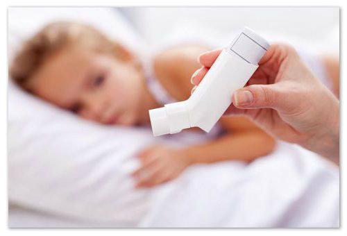 Применение препарата при астме.