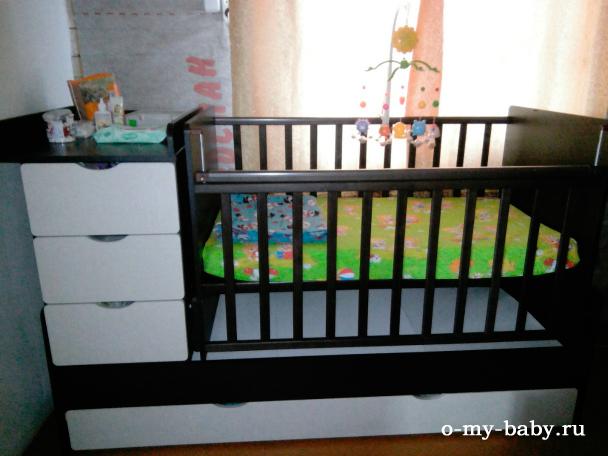 Спальное место малыша.