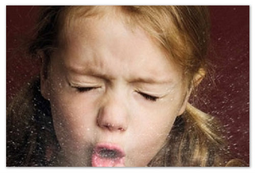 Сопли и влажный кашель