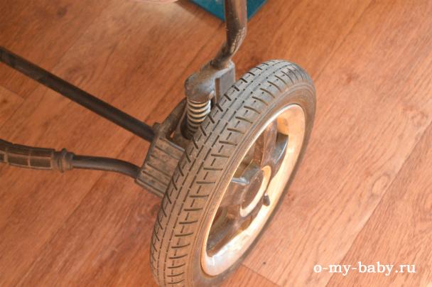 Колёса коляски.