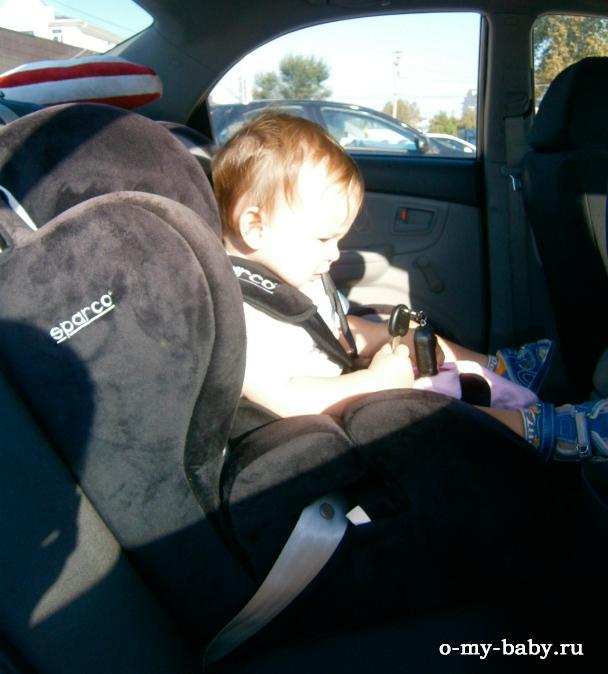 Юный пассажир.