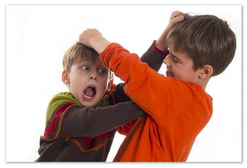 Как справится с агрессией у детей?