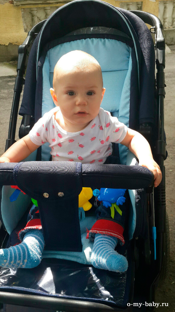 Малыш в коляске.