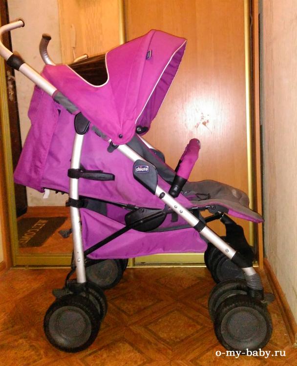 Модель фиолетового цвета.