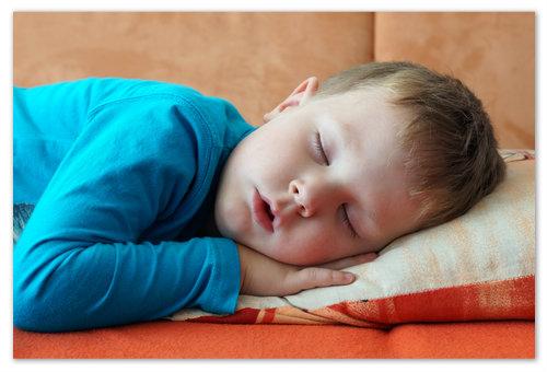 Эффективность лекарства во время сна.