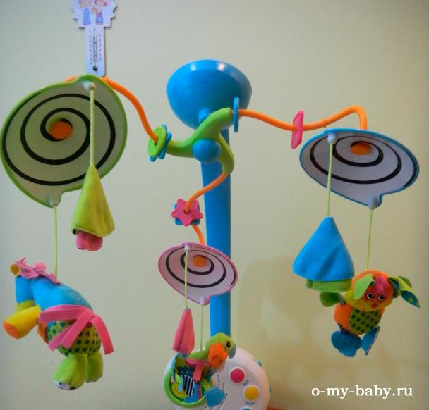 Яркие игрушки.