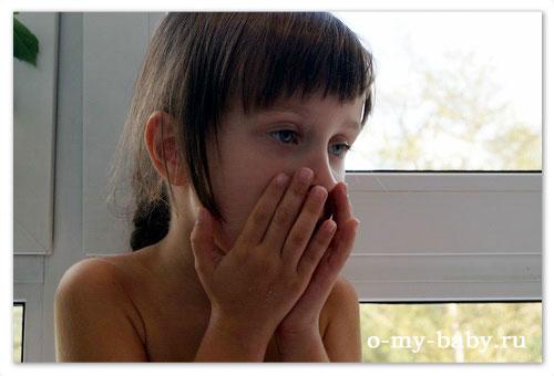 Симптомы бронхита у детей.
