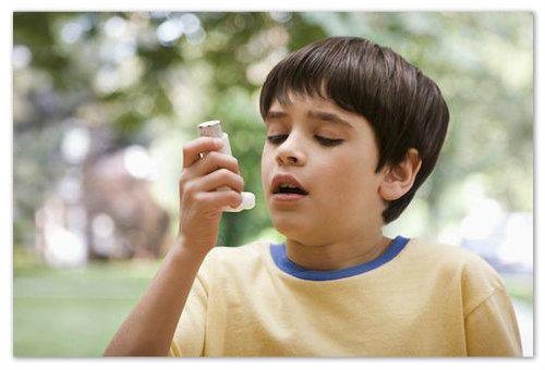 Лекарства при астме.