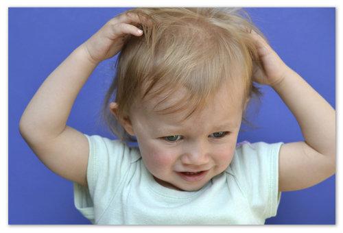 Аллергический зуд у детей.