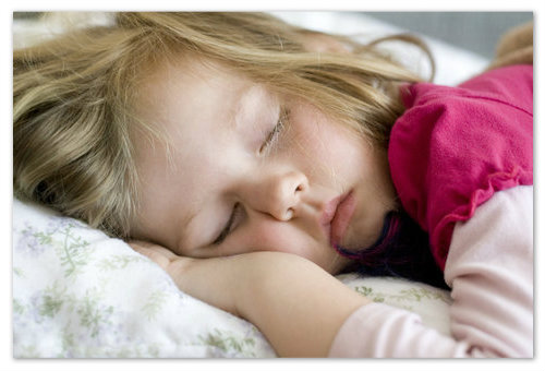 Сонливость у детей.