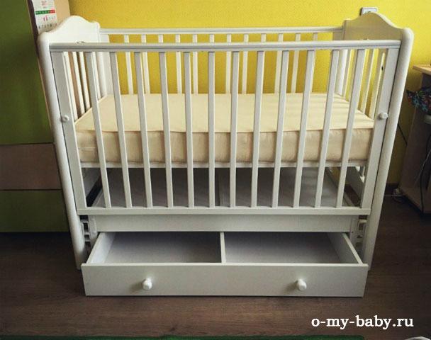 Спальное место для ребёнка.