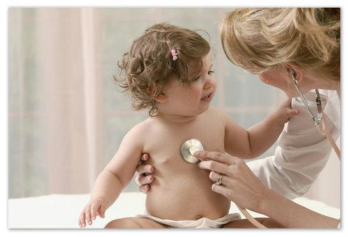 Проявление болезни у детей.